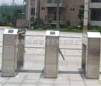 亳州工厂出入口摆闸机,淮南桥式圆弧形标准三辊闸