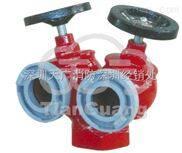 室内双阀双出口消火栓  产品型号:SNSS65