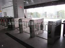 ZYTD中烨通道景区打卡验证进口过人的不锈钢围栏闸机