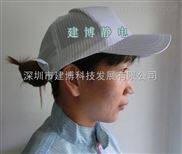防静电硬帽檐工作帽/高档无尘帽/可调节防尘洁净防护帽
