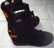 帆布抢险救援靴 防油耐磨救援靴