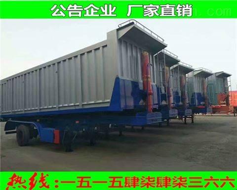 出口非洲地区80吨自卸半挂车市场新局面