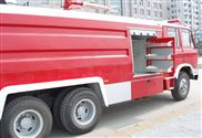 豪沃后双桥水罐消防车