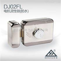 户外大门防水型电机锁DJ02灵性锁,小区楼宇门禁控制