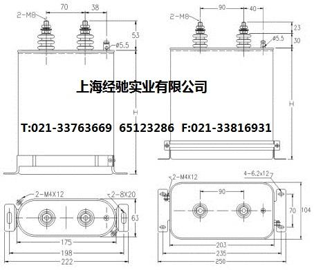 45-□-3系列滤波电容器