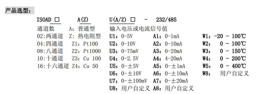 pt100温度信号转rs485隔离变送器|10通道隔离变送器