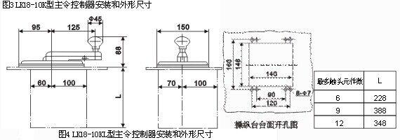令控制器分为三个部分:传动机构部份,凸轮,触头系统部分和壳体