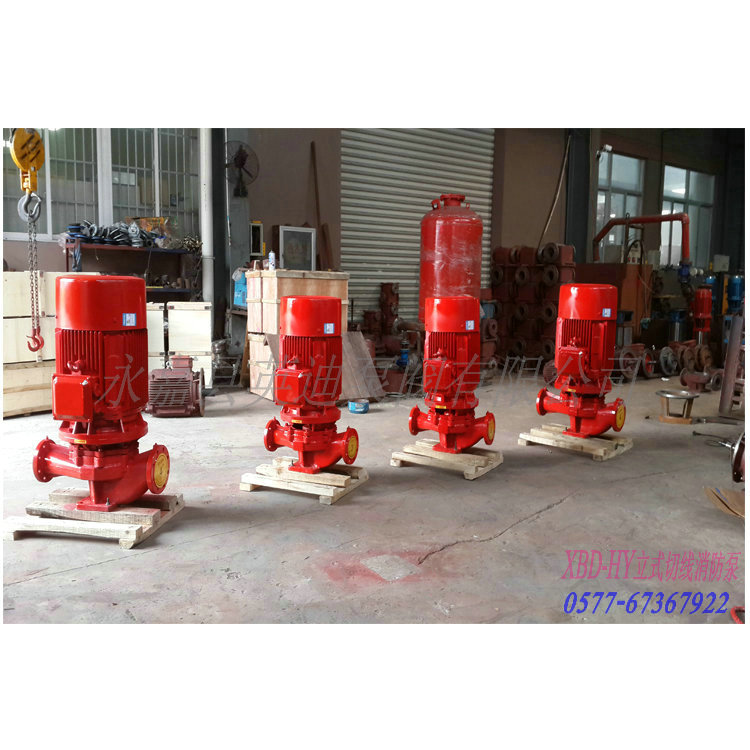 XBD-L立式单级消防泵的安装要求: 1.安装前检查水泵的完好情况。 2.泵安装位置应尽可能靠近水源处。 3.泵与底座安装有两种方式,一种是直接装在水泥基础上的刚性连接,另一种是采用JGD型减振器安装的柔性连接。 4.直接安装可将泵安放基础上垫高30~40毫米(准备充填水泥浆之用),然后进行校正,并穿好地脚螺栓,充填水泥砂浆,经3~5天水泥干涸后,重新校正,待水泥完全干涸后,拧紧地脚螺栓的螺母。 5.
