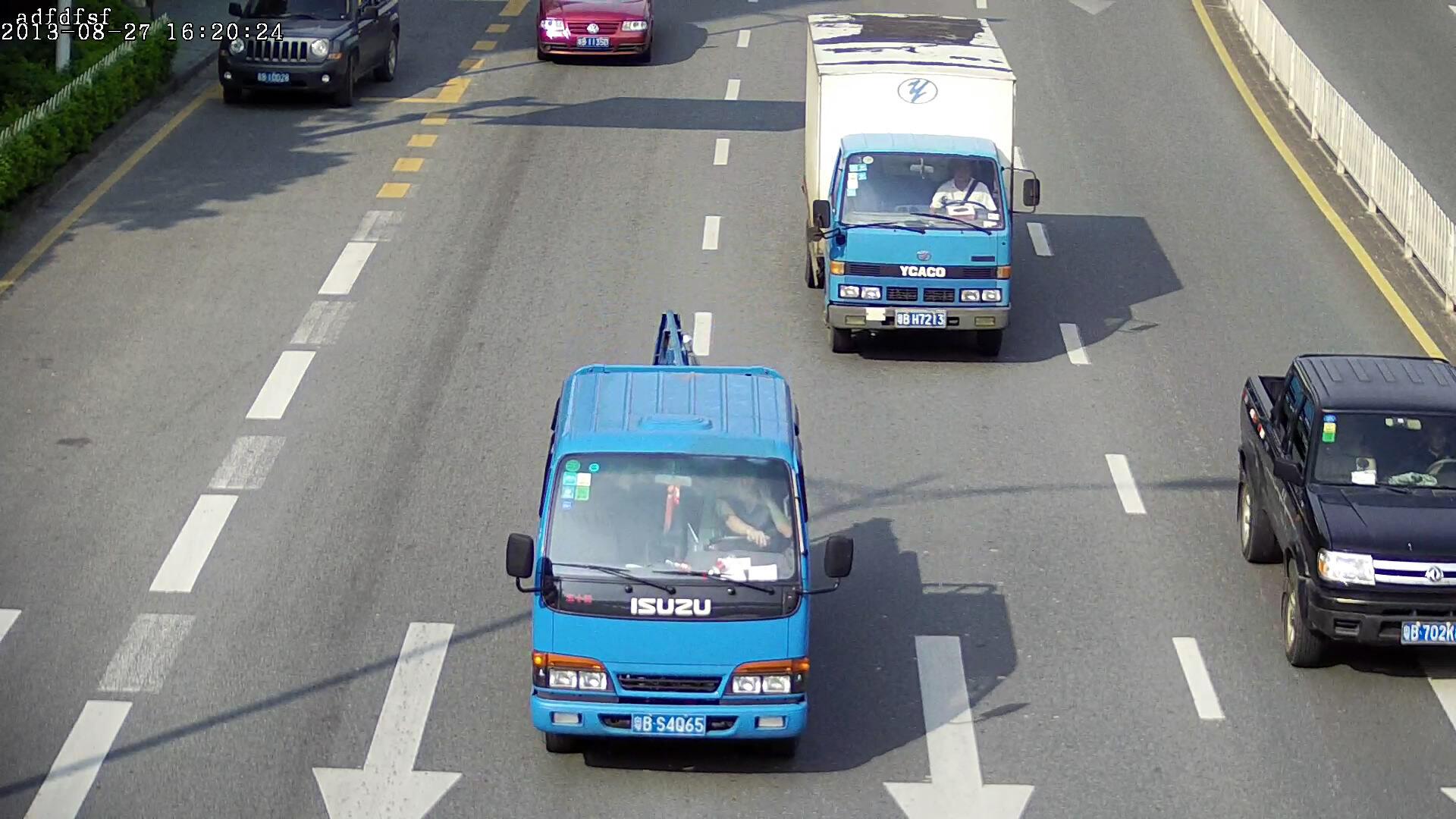 200万高清道路自动抓拍摄像机