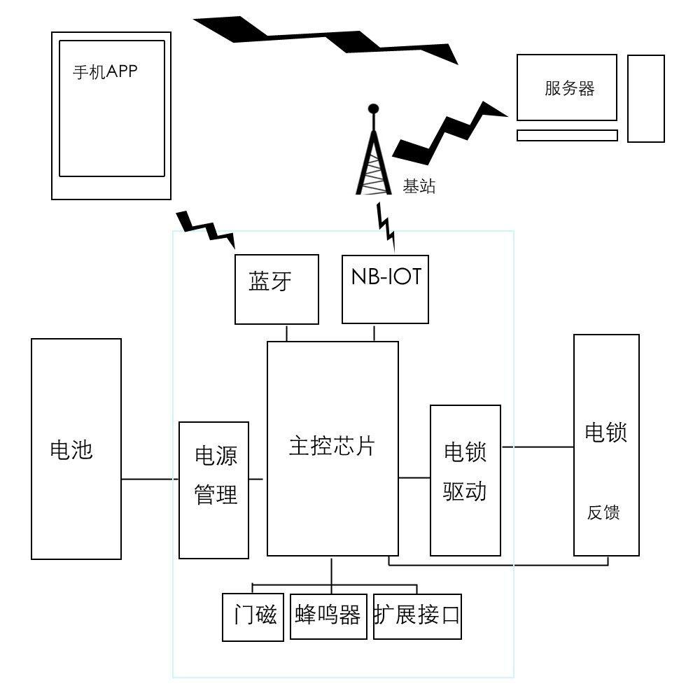 充放电功能电路图